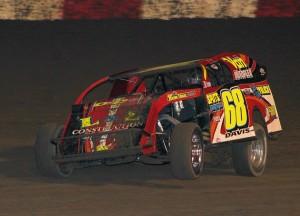 Blasting to win #2 on the season is Kerry Davis. Reed Bros. Racing Photos