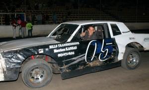 Win #8 for Brett Heeter. Reed Bros. Racing Photos