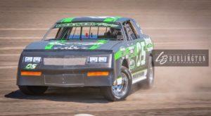 Brett Heeter currently leads the USRA Stock Car points. Lisa Burlington Photo