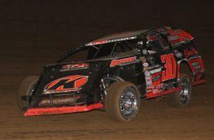 Modified winner Jordan Grabouski. Reed Bros. Racing Photos