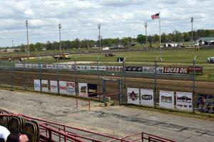 No races at Sedalia. Lloyd Collins Photo